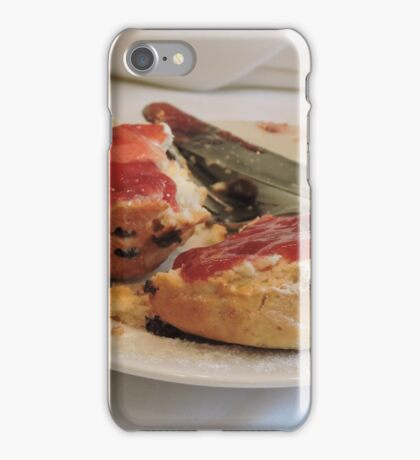Scrummy Scones iPhone Case/Skin