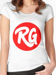 RG Original logo Red Women's Fitted Scoop T-Shirt