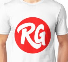 RG Original logo Red Unisex T-Shirt