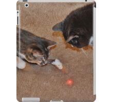Feline Laser Tag iPad Case/Skin