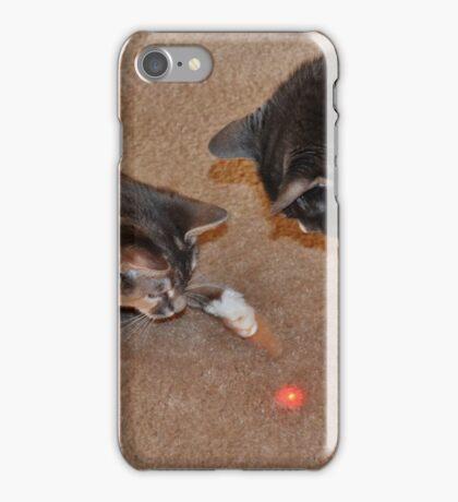 Feline Laser Tag iPhone Case/Skin