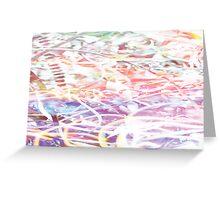 Rainbow Swarf Greeting Card