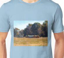 Hay Bales Unisex T-Shirt