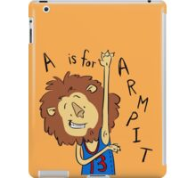 A is for Arm Pit iPad Case/Skin