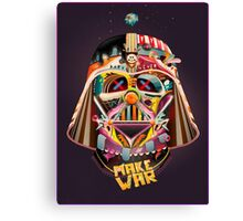 Darth Vader Custom Art  Canvas Print