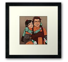 Disney Jaegers - Vanellope and Ralph  Framed Print