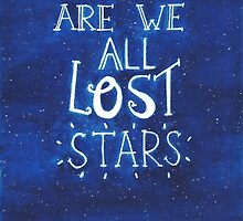 """""""Are We All Lost Stars"""" by etceterawork"""