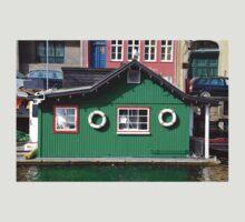 Copenhagen. The Green House on Water T-Shirt