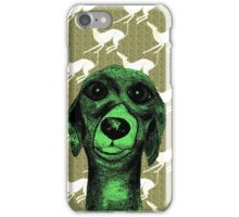 GREYHOUND THOUGHTS iPhone Case/Skin