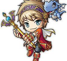 MapleStory Hero - Evan by Sorage55