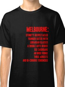 MELBOURNE - BESPECTACLED YOUNGER SISTER Classic T-Shirt