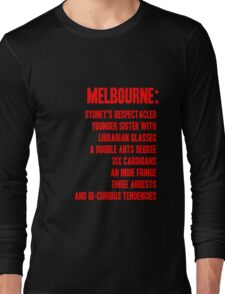 MELBOURNE - BESPECTACLED YOUNGER SISTER Long Sleeve T-Shirt