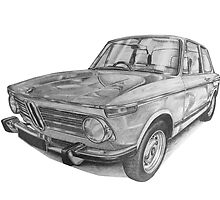 BMW 2002 by BSIllustration