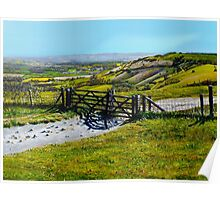Ditchling Beacon Poster