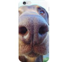 Giant dog nose iPhone Case/Skin