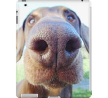 Giant dog nose iPad Case/Skin