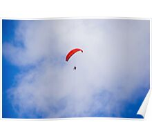 Powered Paraglider Poster