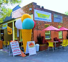 Icecream cafe by JuliaWright