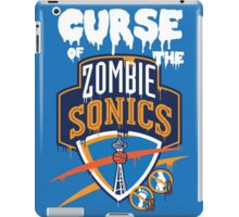 The Curse of Zombie Sonics!! iPad Case/Skin