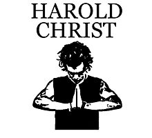 Harold Christ or Harry Styles Photographic Print