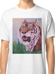 Siberian Tiger Repose Classic T-Shirt
