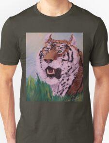 Siberian Tiger Repose Unisex T-Shirt