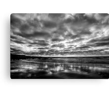 ...a silver lining Canvas Print