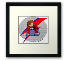 Bowie Boxing Framed Print