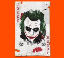The Joker Card Kids Clothes
