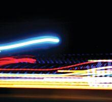 Rainbow Lights Leaping #2 by ekto23