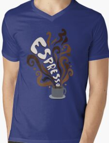 Espresso Mens V-Neck T-Shirt