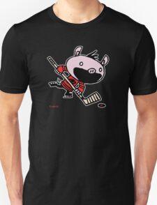 Stormy the Hockey Pig T-Shirt