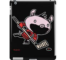 Stormy the Hockey Pig iPad Case/Skin