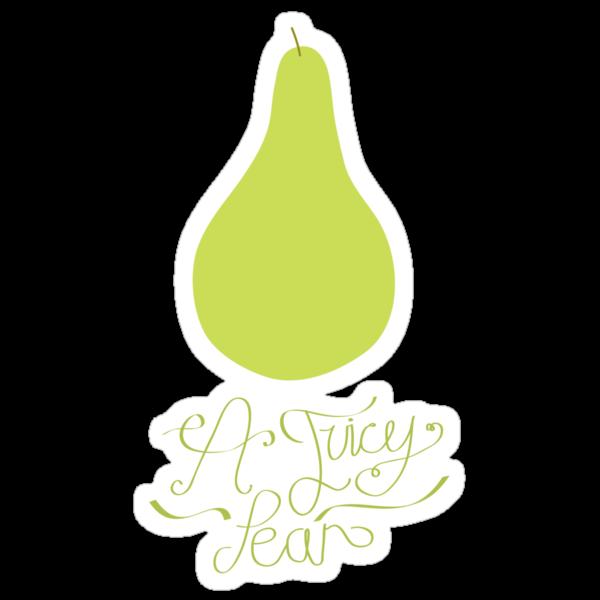 A juicy pear by Stephen Wildish