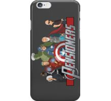 The Pensioners Assemble! iPhone Case/Skin