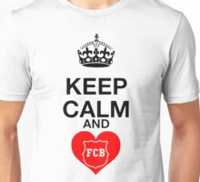 Keep Calm FCB Futbol FC Barcelona  Unisex T-Shirt
