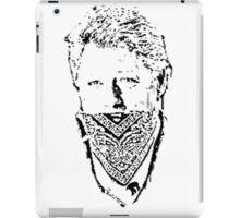 gangster bill iPad Case/Skin