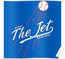 Benny THE JET Rodriguez. Sandlot Design Poster