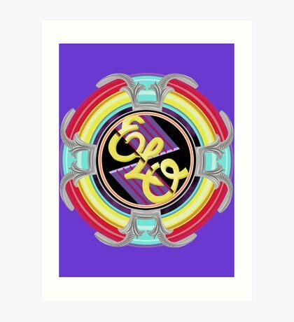 E.L.O. SPACESHIP Art Print
