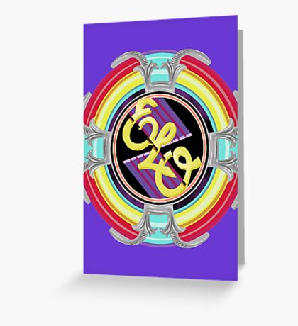 E.L.O. SPACESHIP Greeting Card
