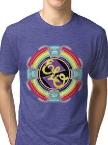 E.L.O. SPACESHIP Tri-blend T-Shirt