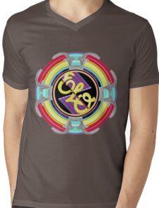 E.L.O. SPACESHIP Mens V-Neck T-Shirt