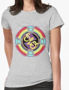 E.L.O. SPACESHIP Womens Fitted T-Shirt