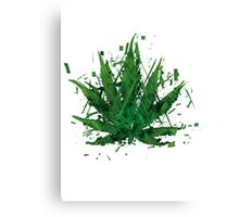 WEED LEAF Canvas Print