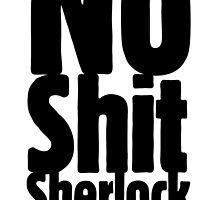 No shit Sherlock by Audric Skivée