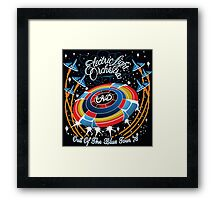 E.L.O. Out of The BLUE TOUR Framed Print