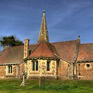 St Stephens Church - Aldwark near York by Trevor Kersley