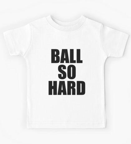 Ball So Hard - Watch the Throne Kids Tee