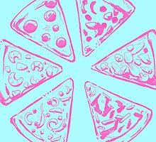 PIZZA by mightylesbinaut
