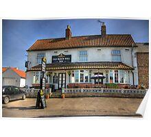 Old Black Bull Inn - Raskelf near York Poster